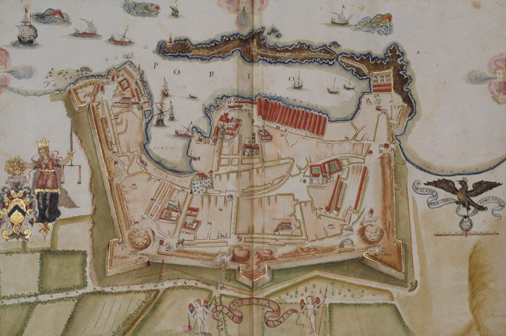 17th Century Map of Chania.