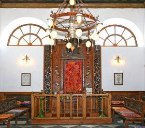 Torah Shrine (Ehal) at Etz Hayyim.