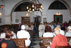 Rosh Hashanah service at Etz Hayyim.