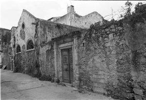 Façade of Etz Hayyim before restoration.