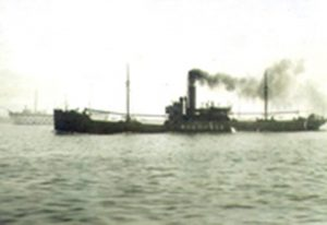 Steamship Tánaïs. © Archives of the National Maritime Museum in London