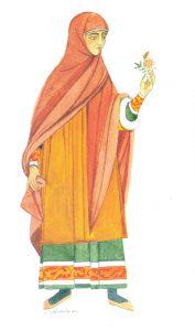 10th to 11th century Byzantine Jewish dress